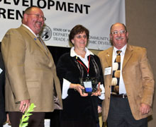 Center of Excellence receives Governors Award
